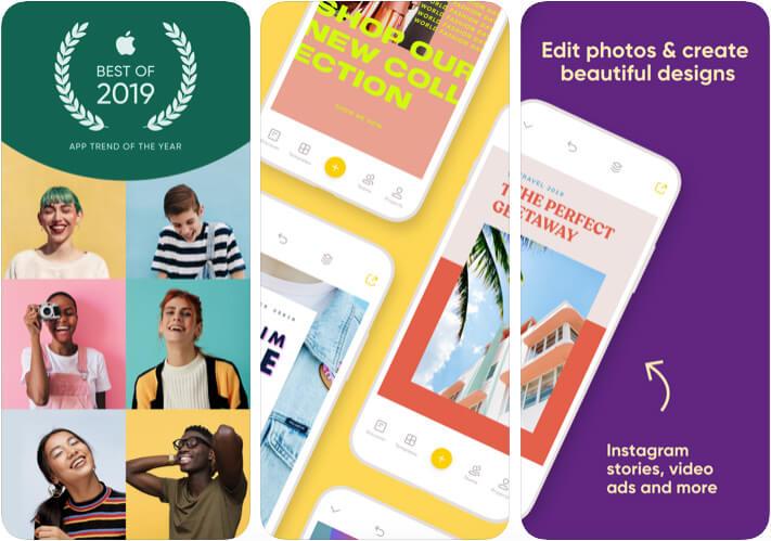 Over iOS Photo Editing App Screenshot