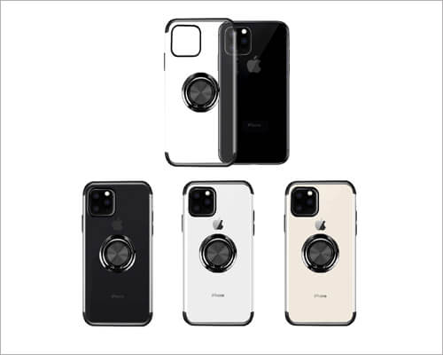 Ownest iPhone 11 Pro Max Magnetic Ring Holder Case