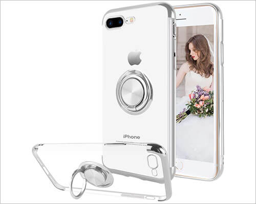 Ownest iPhone 8 Plus Ring Holder Case