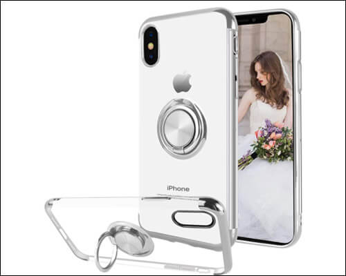 Ownest iPhone X Ring Holder Case