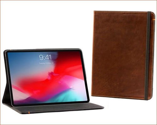 Oxford Leather iPad Pro 12.9-inch 2018 Folio Case