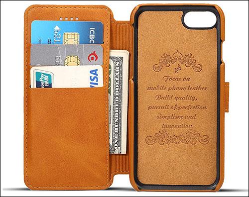 PASONOMI iPhone 8 Plus Wallet Case