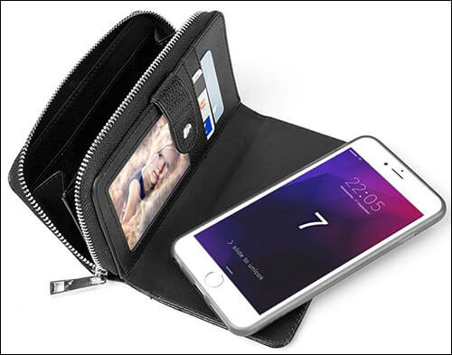 PASONOMI iPhone 8 Wallet
