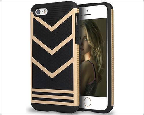 PASONOMI iPhone SE, 5s and 5 Case