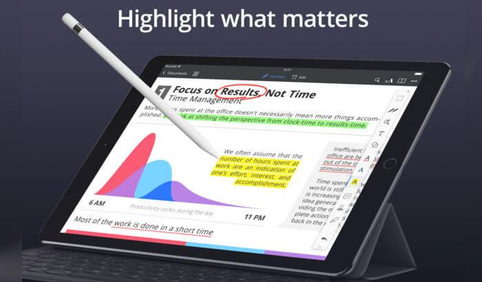PDF Expert by Readdle iPad Note Taking App Screenshot