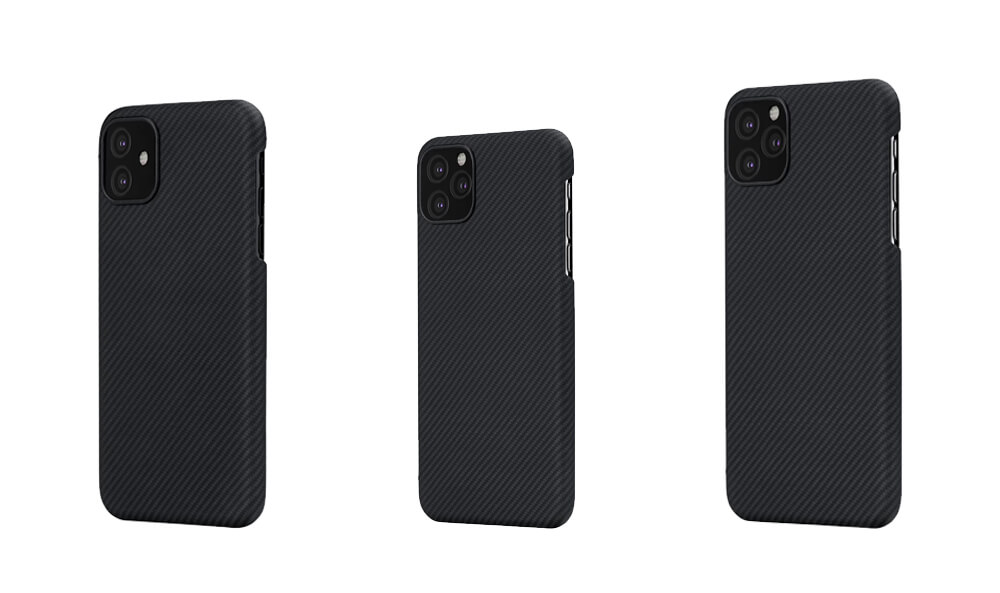 PITAKA Air Series Thinnest Protective Cases for iPhone 11 Series