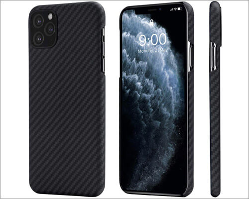 PITAKA MagCase Wireless Charging Compatible Case for iPhone 11 Pro