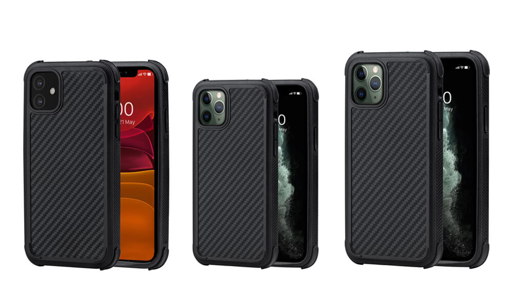 PITAKA MagEZ Case Pro Series Military-grade Cases for iPhone 11 Pro Max, 11 Pro, and iPhone 11