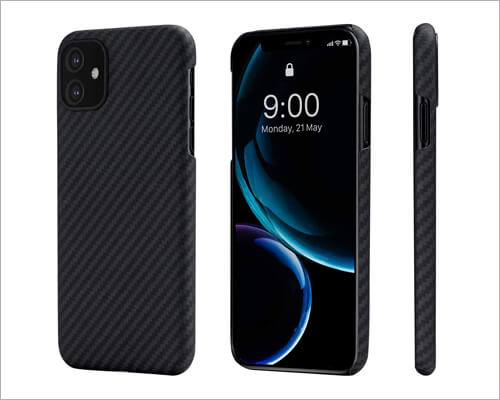 PITAKA Wireless Charging Case for iPhone 11