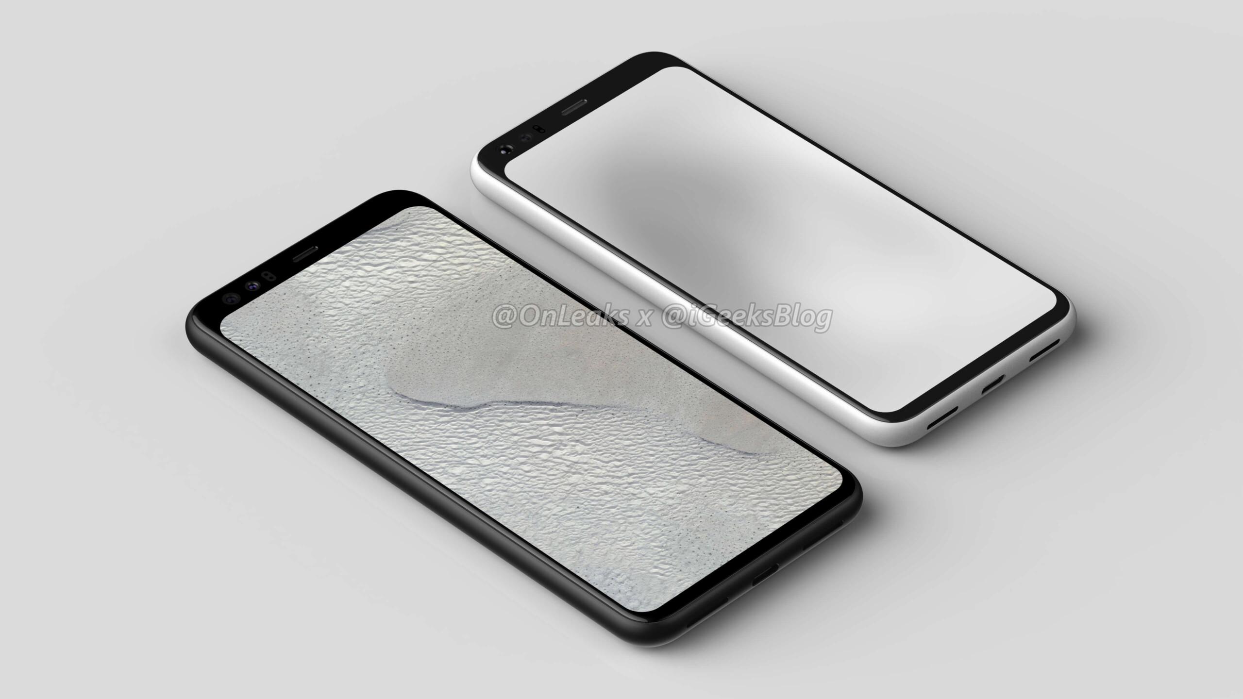 PIXEL4-VS-Pixel 4 Render Image