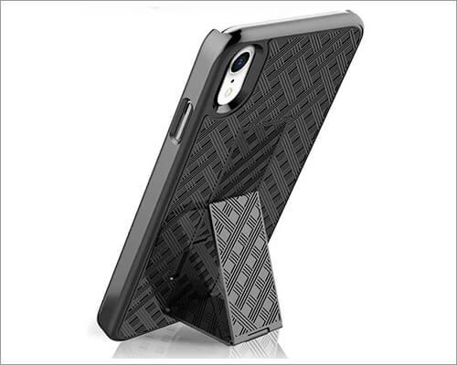 PIXIU Kickstand Case for iPhone XR