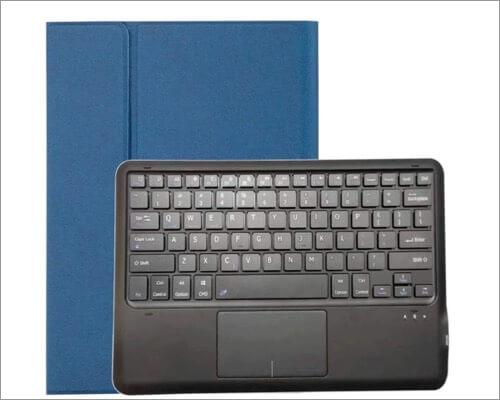 PODITAGI iPad Pro 12.9-inch 2020 Keyboard Case with Touchpad