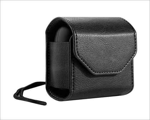 PROKTH Carrying Leather Case for Powerbeats Pro