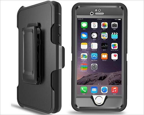 PTUNA iPhone SE Belt Clip Holster Case