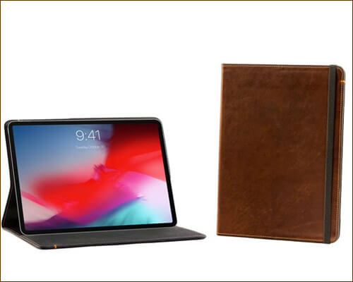 Pad & Quill 12.9 and 11 inch iPad Pro Oxford Leather Folio