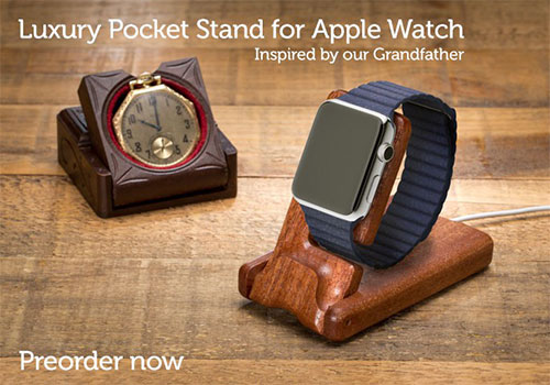 Pad & Quill Apple Watch Pocket Stand