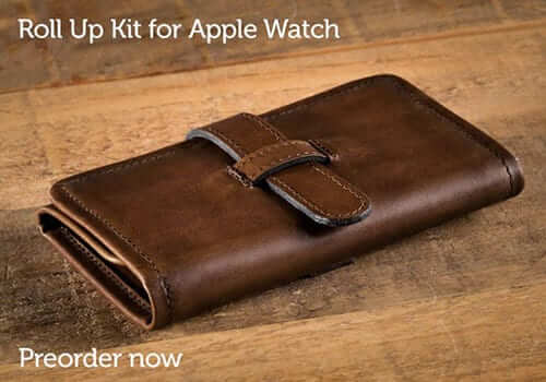 Pad & Quill Apple Watch Roll Up Kit