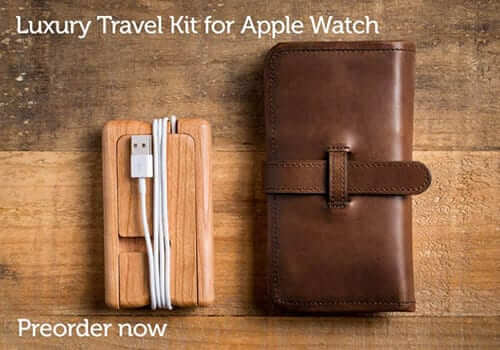 Pad & Quill Apple Watch Travel Kit