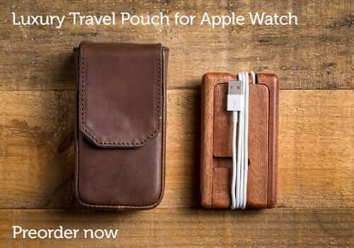 Pad & Quill Apple Watch Travel Pouch