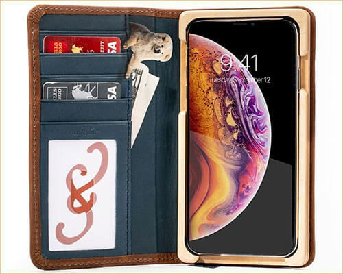 Pad and Quill Luxury Book iPhone Xs Max Executive Case