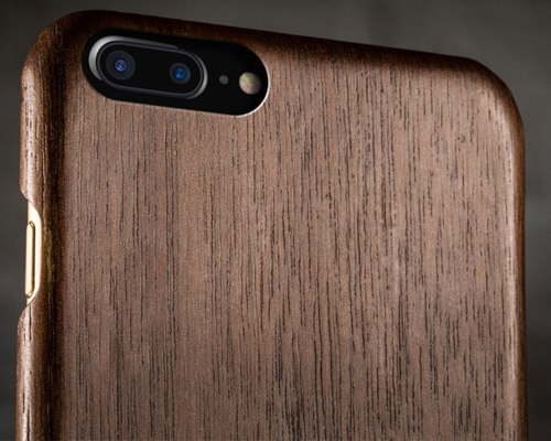 Pad and Quill Woodline iPhone 8 Plus Wooden Case