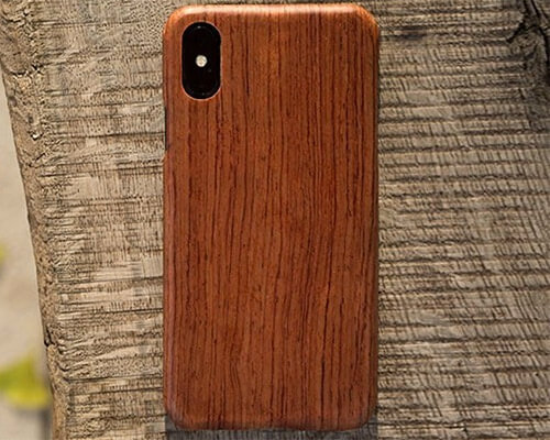 Pad and Quill iPhone X Wooden Case