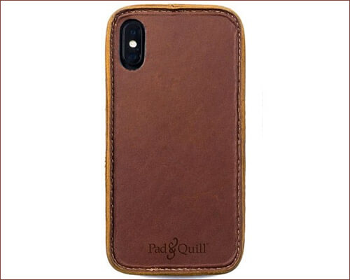 Pad and Quill iPhone Xs Leather Case
