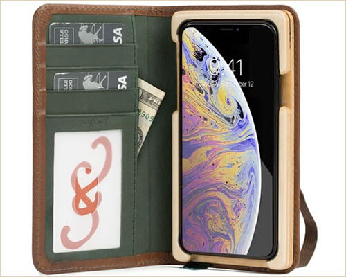 Pad and Quill iPhone Xs Wooden Case