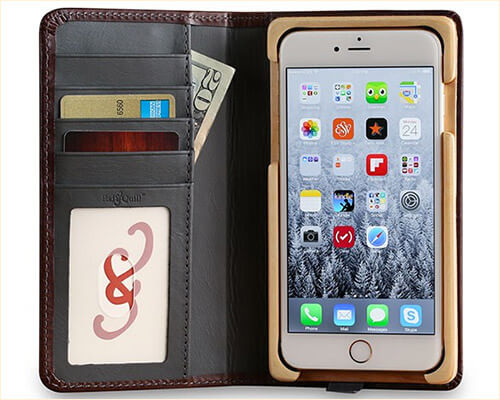 Pad&Quill Luxury Book iPhone 8 Plus Wooden Case