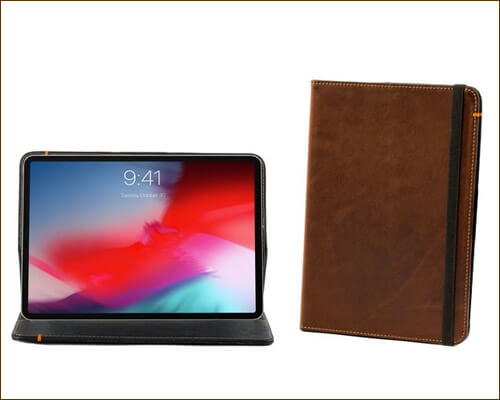 Padandquill iPad Pro 11 inch Leather Case