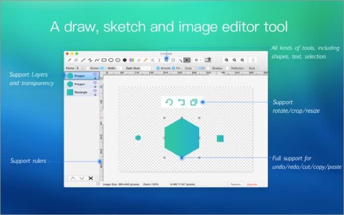 Paint S Mac Drawing App Screenshot