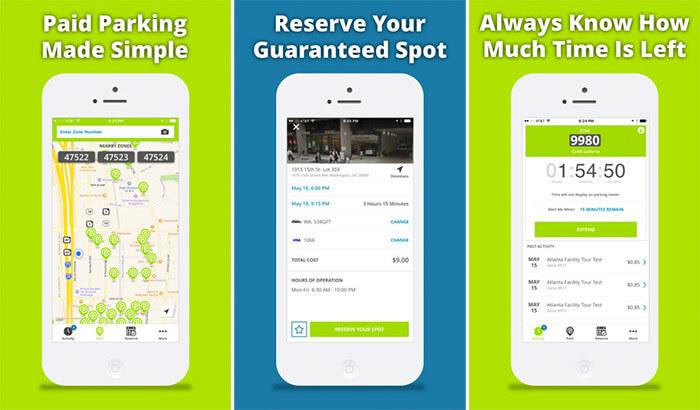 Parkmobile Car Parking iPhone App Screenshot