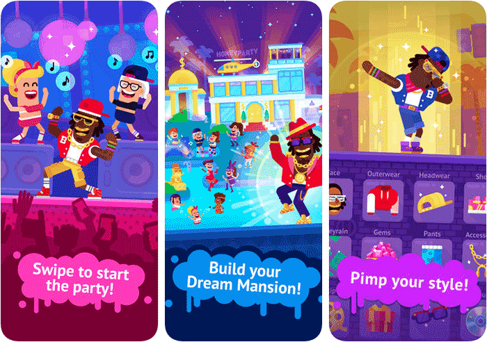 Partymasters Party iPhone and iPad Game Screenshot