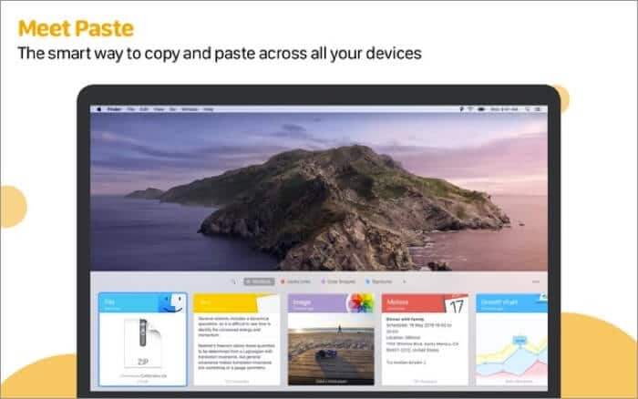 Paste Clipboard Manager Mac App Screenshot