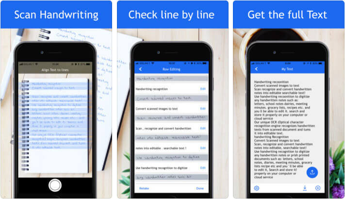 Pen to Print iPhone and iPad Handwriting App Screenshot
