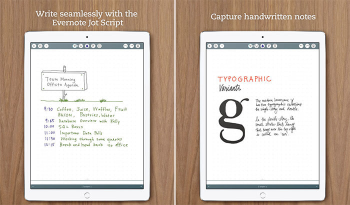 Penultimate iPhone and iPad App Screenshot