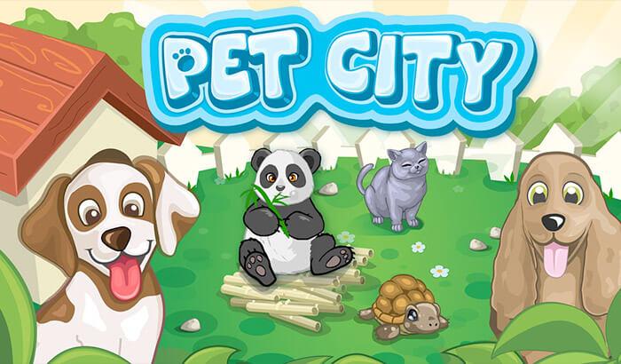 Pet City iPhone and iPad App Screenshot