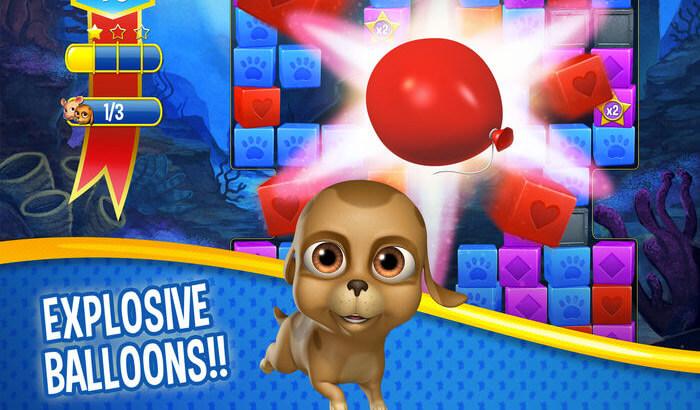 Pet Rescue Saga Puzzle iPhone and iPad Game Screenshot