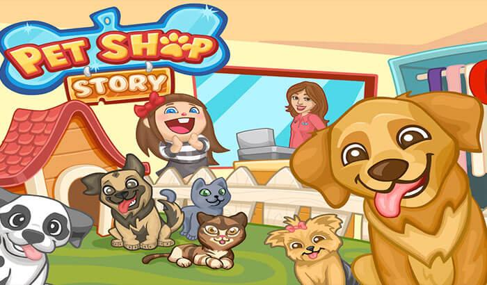 Pet Shop Story iPhone and iPad App Screenshot