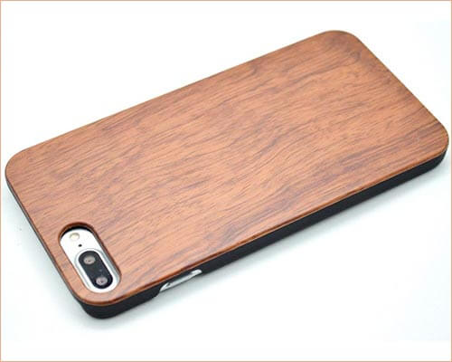 PhantomSky iPhone 8 Plus Wooden Case