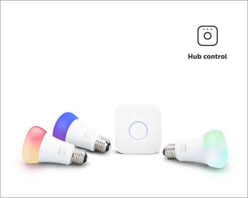 Philips Hue HomeKit Enabled Smart Light Bulbs