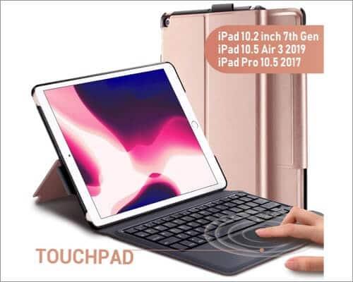 Phixnozar iPad TouchPad Keyboard Case