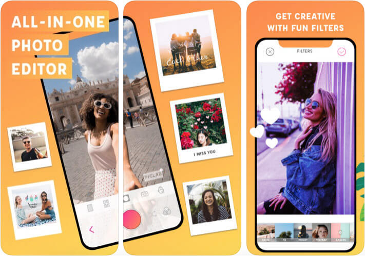Photo Editor to Adding Text to Pictures iPhone App Screenshot