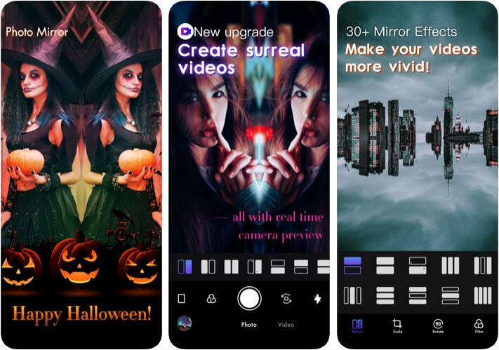 Photo Mirror Effects Camera Flipper for iPhone and iPad