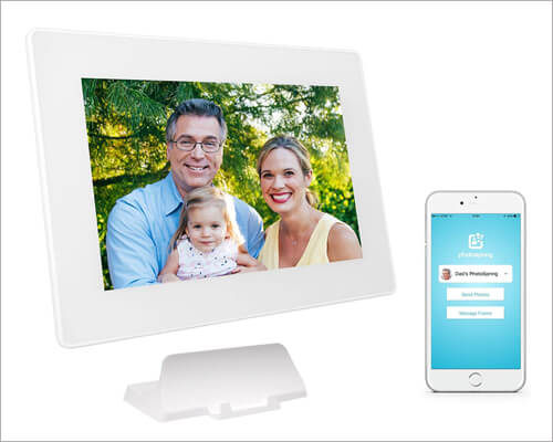 PhotoSpring WiFi Cloud Digital Picture Frame