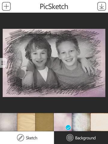 PicSketch Photo App for iDevice