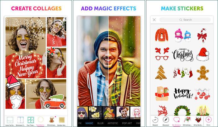 PicsArt Photo & Collage Making iPhone and iPad App Screenshot
