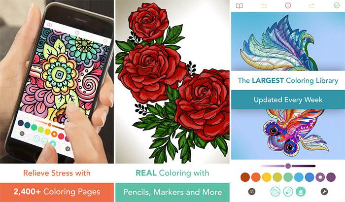 Pigment iPhone App Screenshot