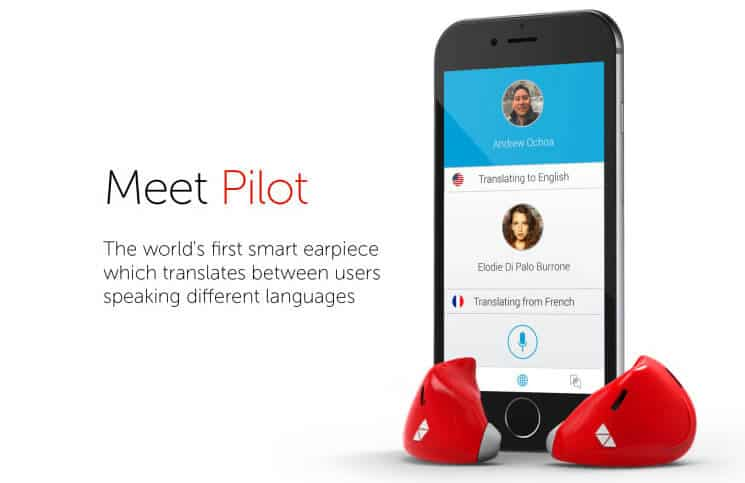 Pilot Language Translating Earpiece for iPhone
