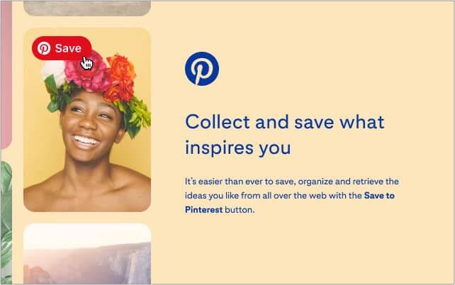 Pinterest Save button Google Chrome extension